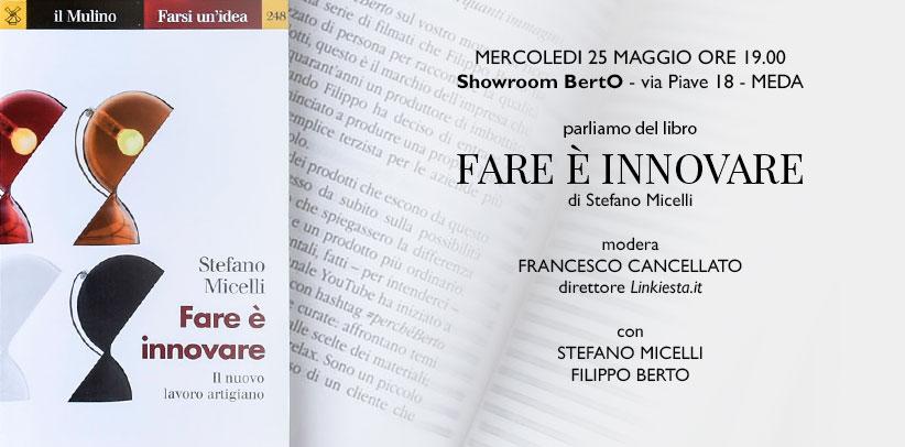 Faire c'est innover de Stefano Micelli à Meda