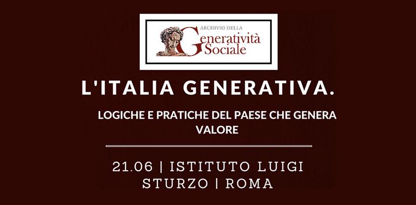 Filippo Berto participe à la rencontre organisée par les Archives de la Générativité Sociale