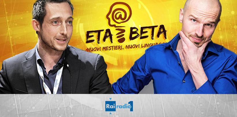 #PourquoiBerto en onde sur Radio Rai 1