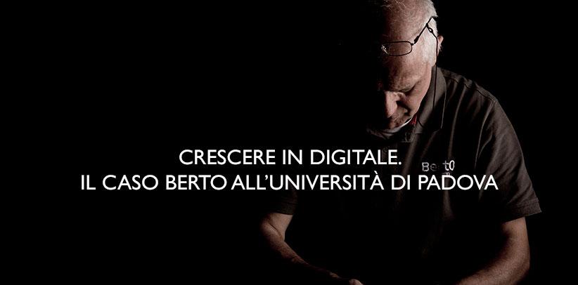 Le cas BertO à l'Université de Padoue