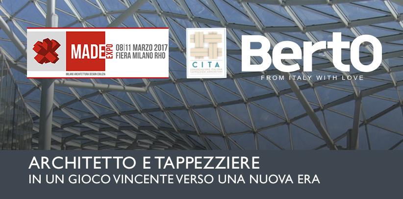 Architecte et Tapissier: Filippo Berto participe au séminaire