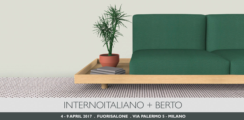 BertO et internoitaliano présentent MEDA au Fuorisalone 2017