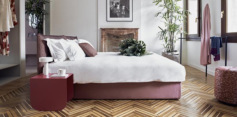 Casa Flora Venise chambre à coucher