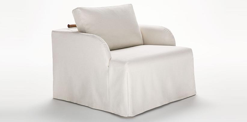 Fauteuils convertibles en lit Flora et Dafne