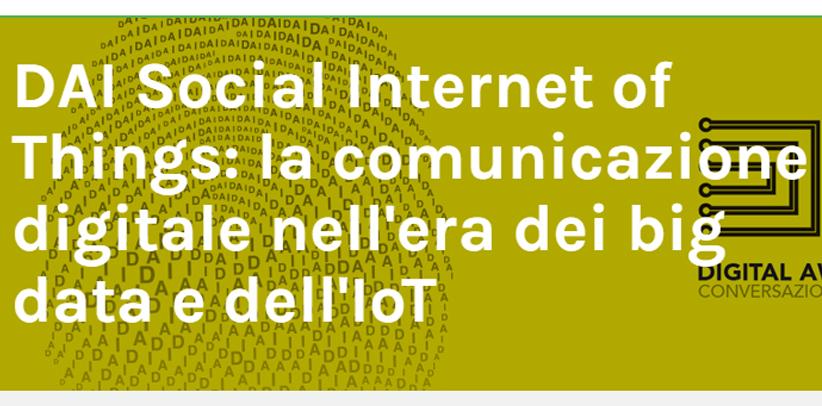 Filippo Berto participe à la conférence Big data et Iot à Milan