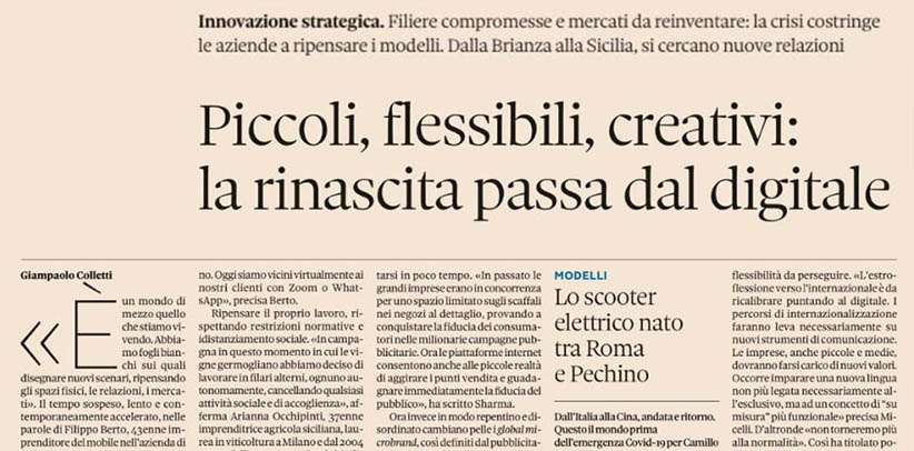 Interview à Filippo Berto dans Nova Il Sole 24 ORE