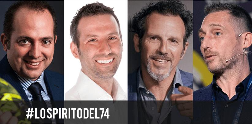 Germano Lanzoni avec Filippo Berto, Matteo Salvo et Alessio Brusemini parlent L'ESPRIT DE 74