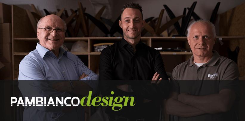 Le design en ligne de BertO raconté sur le site Pambianco News