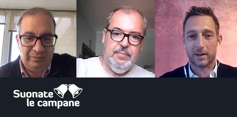 Interview vidéo de Filippo Berto à Suonate le campane