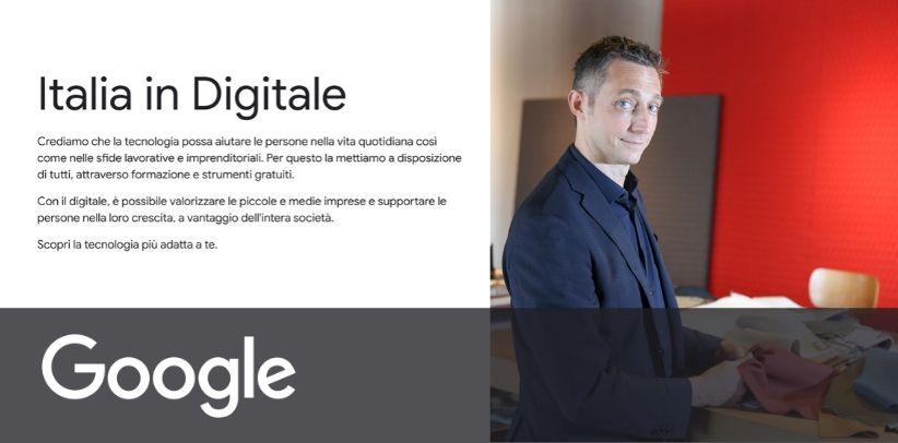 BertO est le testimonial du nouveau projet Google ITALIE EN NUMÉRIQUE - News BertO