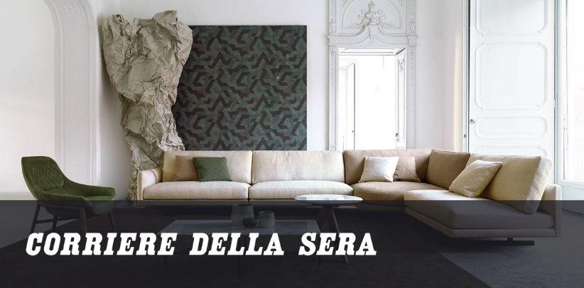 article de berto sur la façon de choisir le consultant d'ameublement parfait dans le corriere della sera