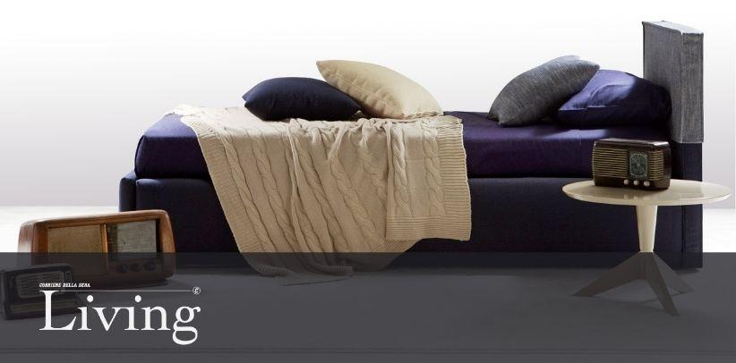 Le lit Summer B dans la nouvelle galerie de Living - Corriere della Sera
