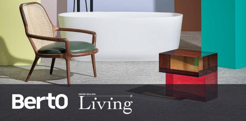 fauteuil de design patti de berto dans living corriere della sera