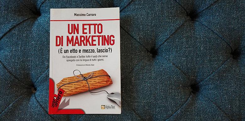 une livre de marketing et l'étude de cas berto salotti dans le livre de massimo carraro