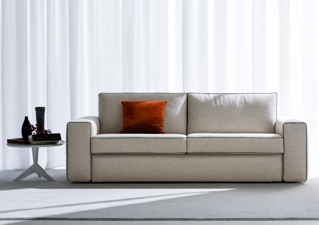 canap lit en tissu deux places philadelphia city berto salotti. Black Bedroom Furniture Sets. Home Design Ideas