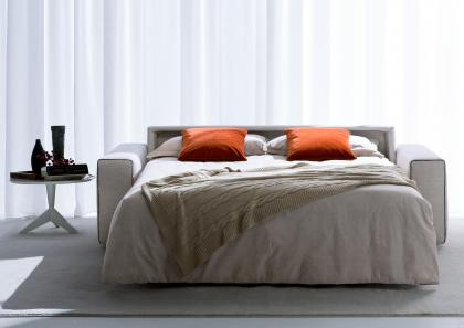 canap lit en tissu deux places philadelphia city berto. Black Bedroom Furniture Sets. Home Design Ideas