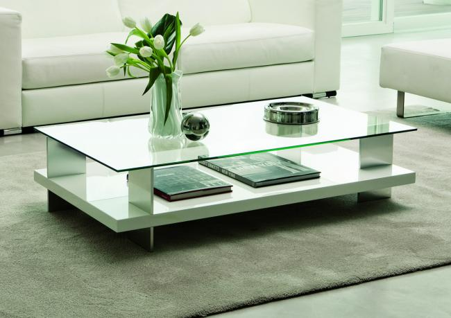 Table basse joyce avec plateau en verre berto shop for Tavolini salotto cristallo