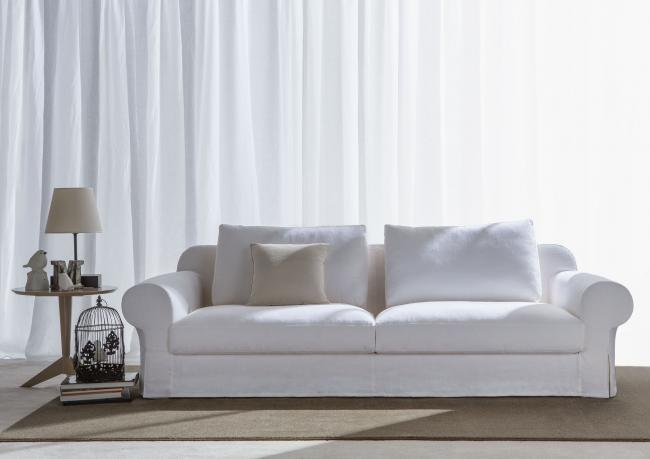 canap classique callas avec assise profonde berto shop - Canape Assise Profonde