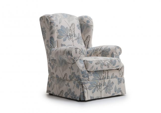 fauteuil bergre cina en tissu berto outlet - Fauteuil Bergere