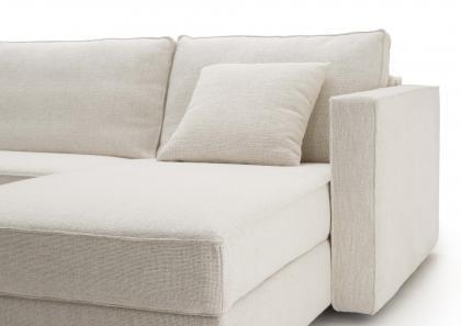 Canapé-lit avec Chaise Longue sur Mesure - Berto Salotti
